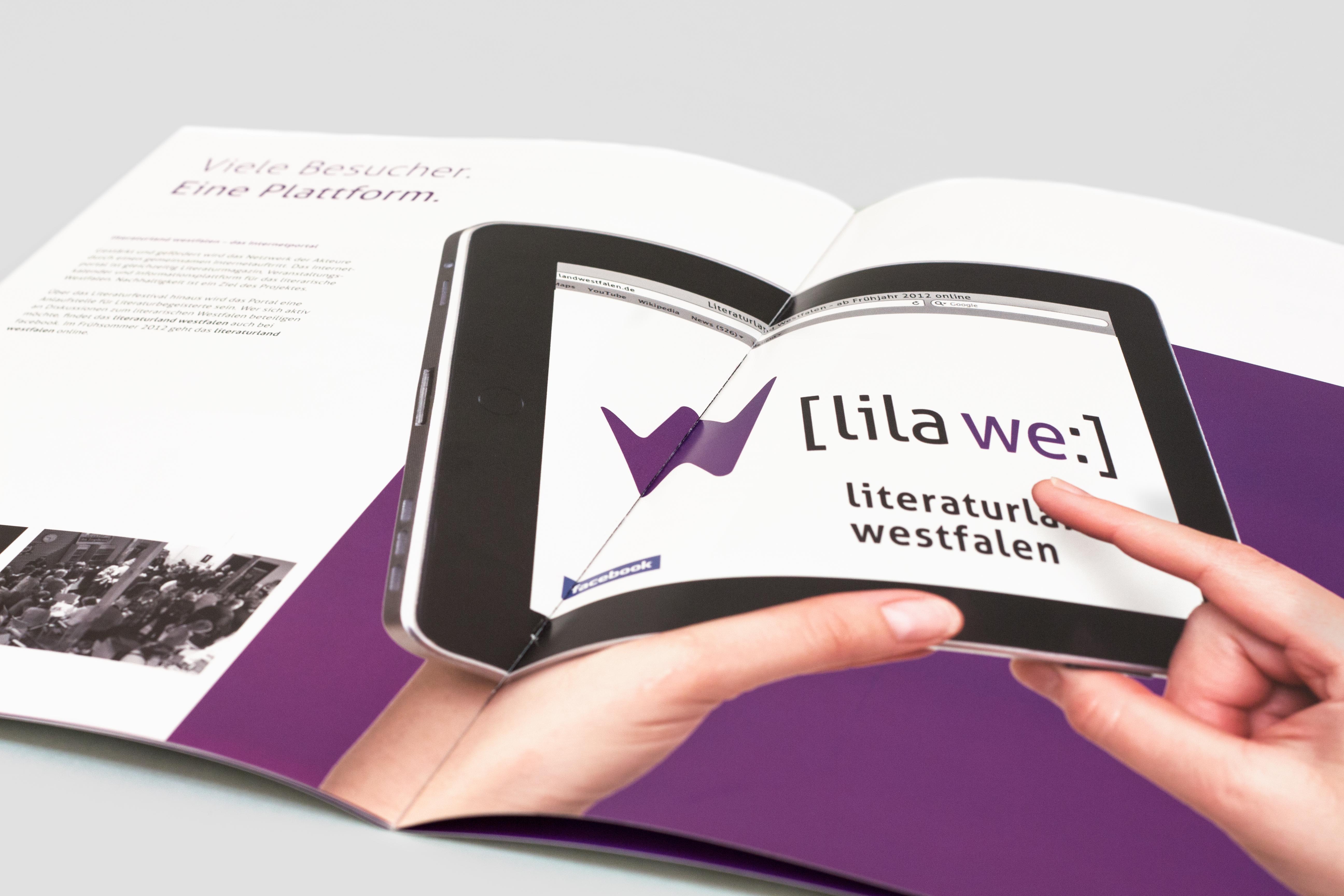 LILA WE Broschüre