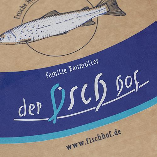 Fischhof Baumüller Bodenbeutel Frontal